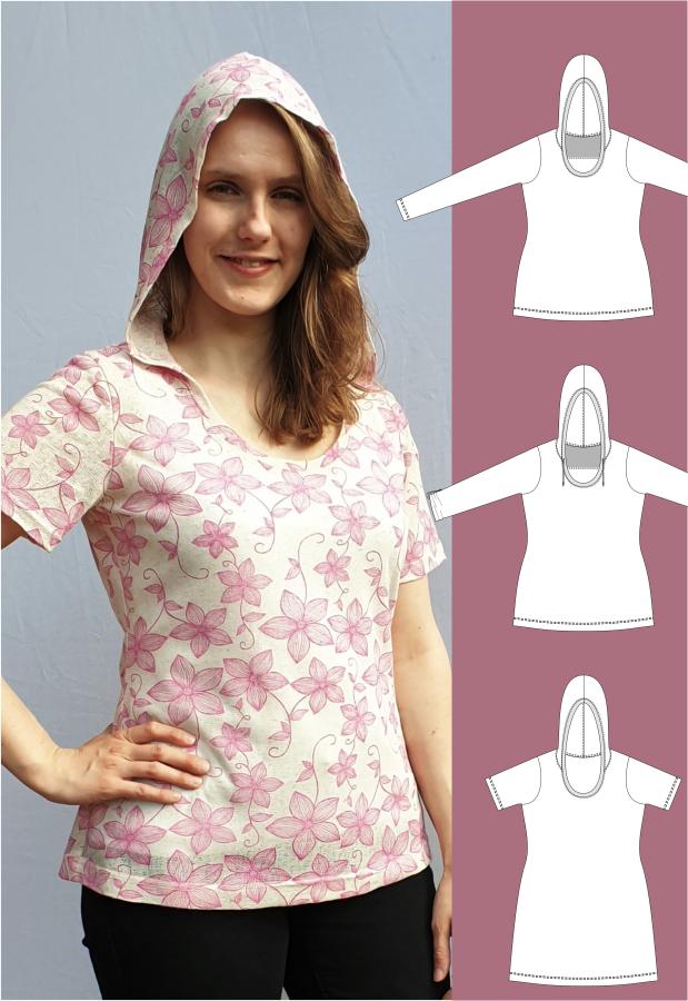 Kyra - Kapuzenshirt / Shirt mit Kapuze - eBook