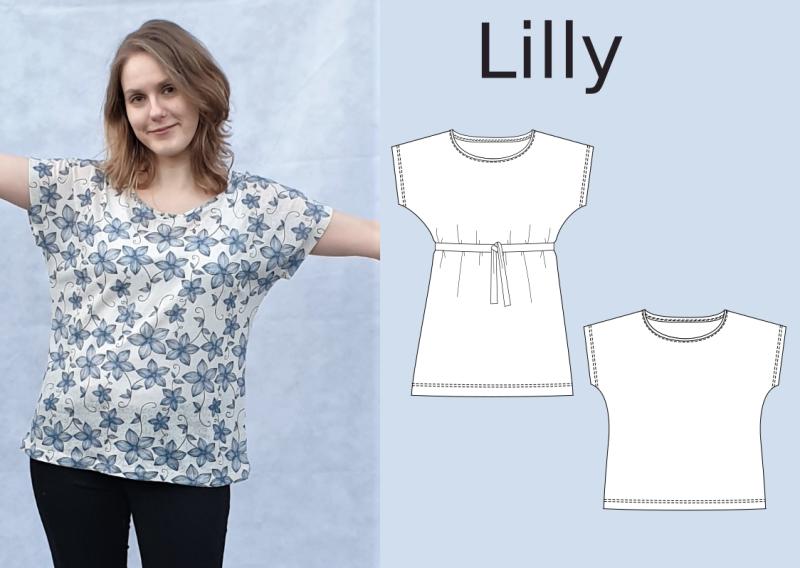Lilly - lockeres Shirt für Anfänger - eBook